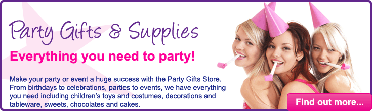 Party Gifts Supplies